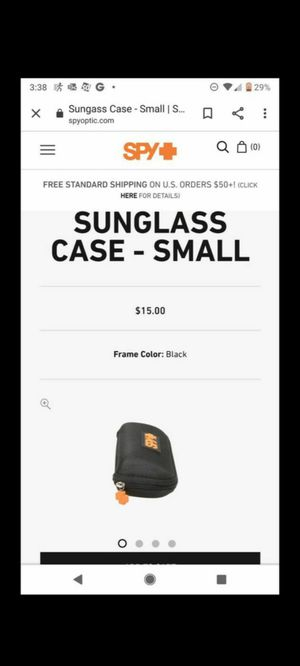 Spy sunglass case for Sale in Chula Vista, CA