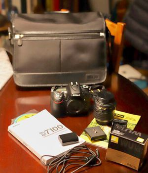NIKON digital D7100 + 2 great lenses + Extras for Sale in Rivergrove, OR