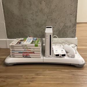 Wii Bundle With Wii Board And Games for Sale in Seattle, WA