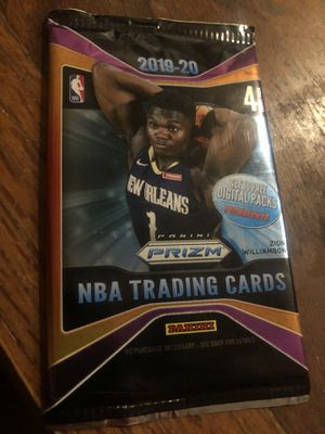 Panini 19-20 Zion nba basketball cards sealed for Sale in Livermore, CA
