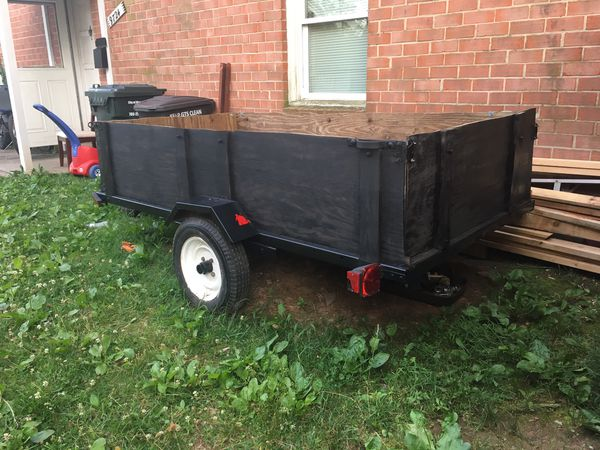 Trailer. 4x8. In good conditions new tires