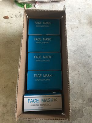 Face mask surgical disposable for Sale in Sugar Land, TX