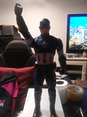 Captain america action talking figure. for Sale in Union Park, FL