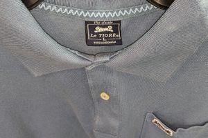 Men's Sz- Large Grayish/Blue Let Tigre polo shirt for Sale in DeLand, FL