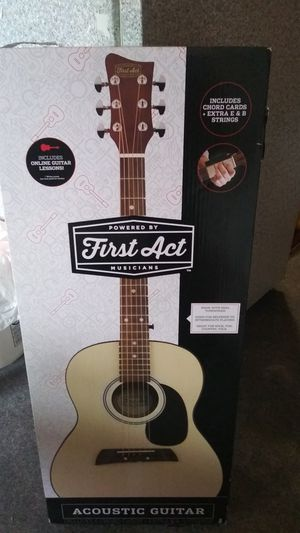 First Act acoustic guitar for Sale in Chicago, IL