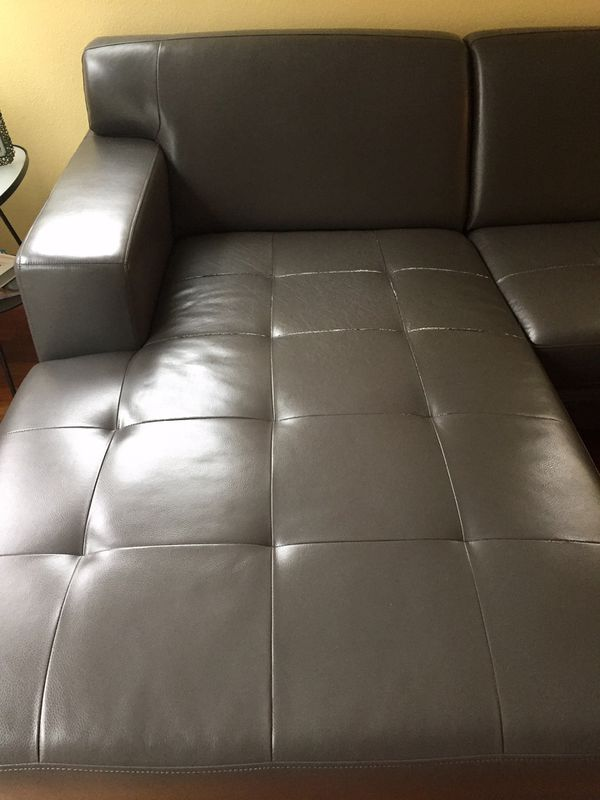 Leather Sectional Kasala For Sale In Seattle Wa Offerup