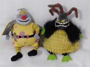 NBC Disney Nightmare Before Christmas Monster & Clown Bean Bag Plush Doll Halloween for Sale in Homestead, FL