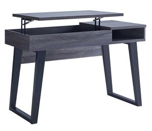 NEW IN THE BOX. MODERN STUDENT DESK WITH SIDE STORAGE COMPARTMENT, DISTRESSED GREY, SKU# TC192481D for Sale in Santa Ana, CA