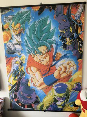 Dragonball Z Fairy Tail Bleach Wall Scroll for Sale in Orlando, FL