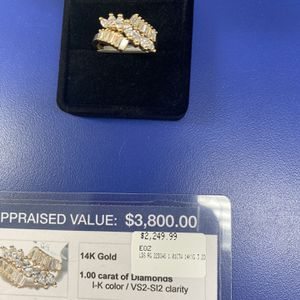 14kt Diamond Ring for Sale in West Palm Beach, FL