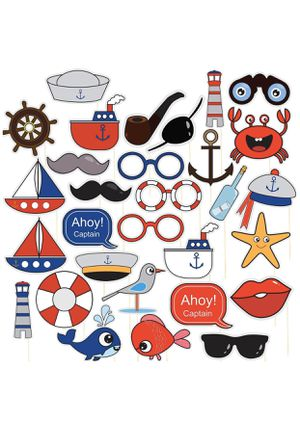 Nautical Photo booth props for Sale in Des Moines, WA