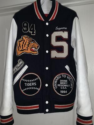 Supreme vintage varsity jacket for Sale in Atlanta, GA