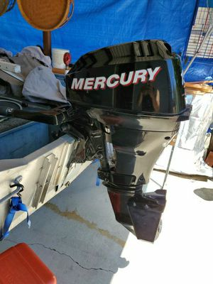 2007 mercury 15hp for Sale in San Jose, CA