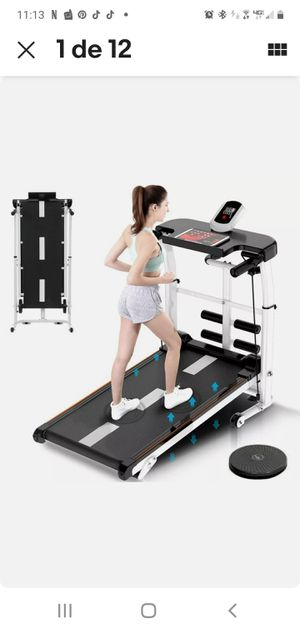 Folding Manual Treadmill 4-in-1 Shock Running Working Machine Fitness for Sale in Richmond, CA