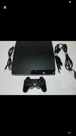 PS3 80 gb. Comes with wireless controller. Resident evil 5, Batman origins, mortal kombat x, and god of war 1-3 for Sale in Parma Heights, OH
