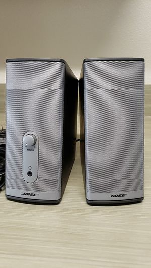 Bose Companion speakers for Sale in North Bend, WA