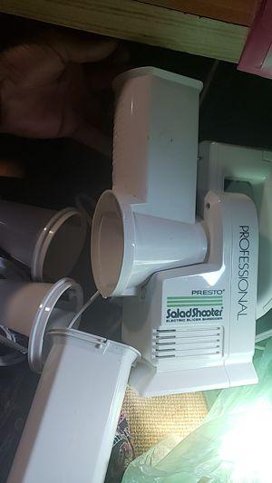 Presto professional salad shooter. Electric slicer shredder for Sale in Dundee, OR