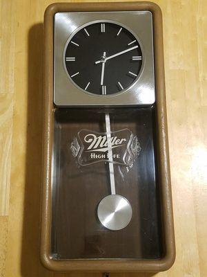 Miller High Life Beer Vintage Clock for Sale in Kirkland, WA