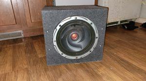 Speaker bomb box OBO for Sale in Monroe, MI