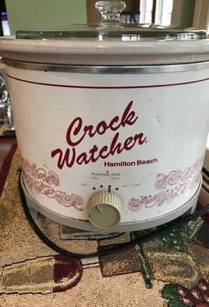 Hamilton Beach crock watcher crock pot for Sale in North East, MD