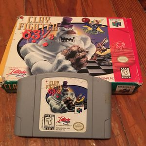 Clayfighter w/ original box (Nintendo 64) for Sale in Fairfax, VA