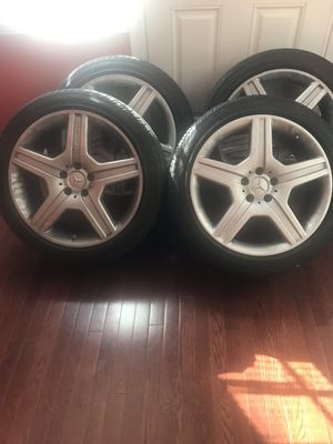 AMG 19in MERCEDES BENZ OEM RIMS for Sale in Washington, DC