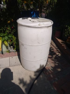 Storage water plastic drum 55gl for Sale in Bell, CA