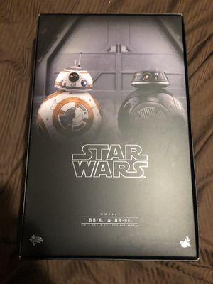 Bb8 &bb9e & mouse droid set 1/6th scale hot toys sideshow figures mms442 for Sale in Queens, NY