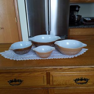 Vintage Pyrex Nesting Bowls for Sale in Pitcairn, PA
