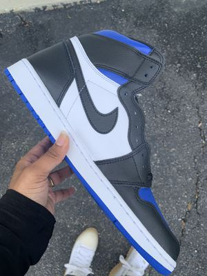 Brand New Jordan 1 Royal Toe Size 8.5 for Sale in Lake Arbor, MD