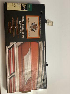 Harley Davidson Billet saddlebag latch kit for Sale in Downey, CA