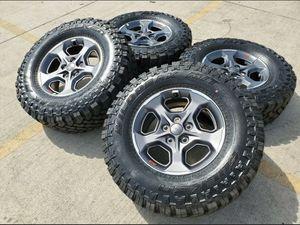 2020 Jeep Rubicon Gladiator Wheels Rims Tires Falken Wildpeak A/T for Sale in Murrieta, CA