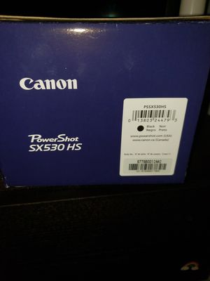 Canon powershot sx530 brand new, never used for Sale in Valrico, FL