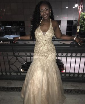 8d7228bd1f7 New and Used Gold dress for Sale in Pearland