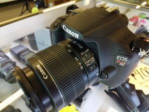 Canon EOS Rebel T5 Camera with Lens, Bag, and Charger for Sale in Woodstock, GA