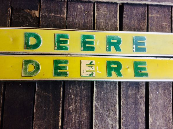 John Deere tractor emblems
