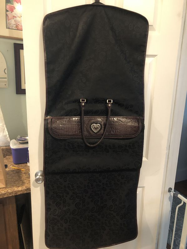 Brighton Doreen trim fold garment travel bag