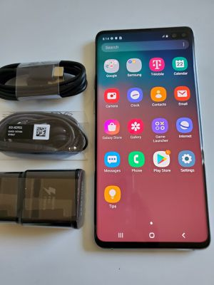 Samsung Galaxy S10+ Plus, Factory Unlocked, Nothing wrong works perfectly, Excellent condition like new for Sale in Springfield, VA