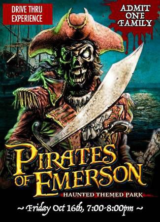 Haunted theme park pirates of emerson