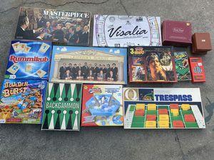 Board games for Sale in Cerritos, CA
