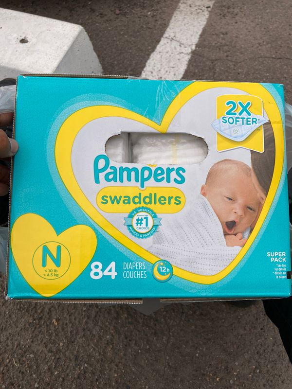 PAMPERS NEWBORN NOT OPENED