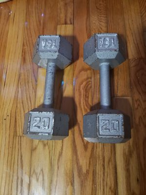20 pound dumbbells for Sale in The Bronx, NY