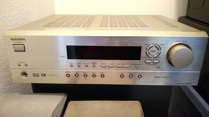 Onkyo 5.1 receiver with surround speakers and powered sub for Sale in Chino, CA