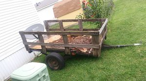 4×8 trailer needs new decking got good tires lights ready to go for Sale in Wichita, KS
