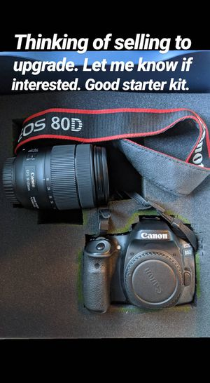 Canon 80D for Sale in Webster, TX