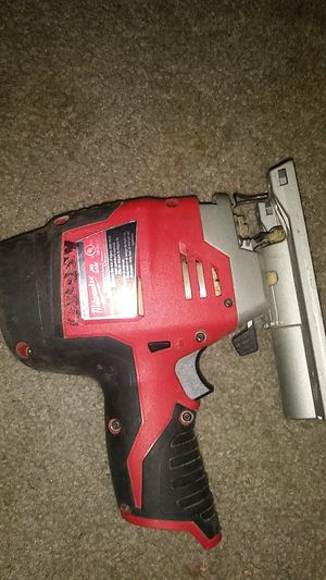 Milwaukee M12 12-Volt Lithium-Ion Cordless Jig Saw (Tool-Only) for Sale in Bonney Lake, WA