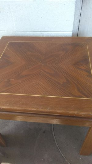 End tables(2)real wood not Formica, plus other pieces of furniture for Sale in Tampa, FL