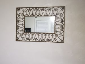 Gold Wall Mirror for Sale in Norfolk, VA