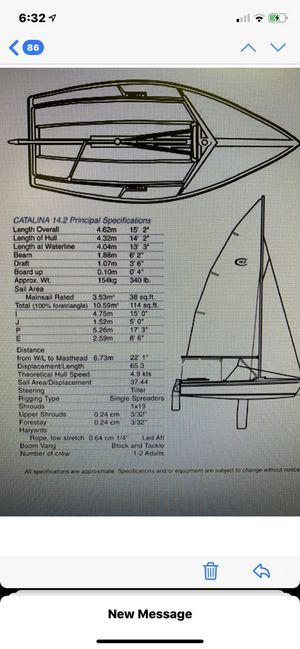 Catalina Capri Day Sailboat for Sale in Penllyn, PA