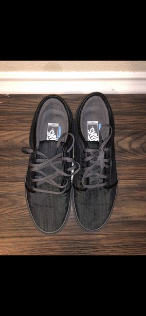 Black/grey Chukka Low VANS for Sale in San Antonio, TX